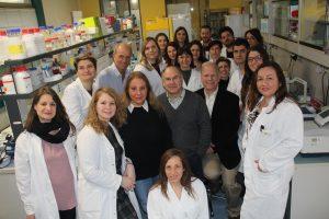 il team del Laboratorio di Neurofarmacologia IRCCS Neuromed