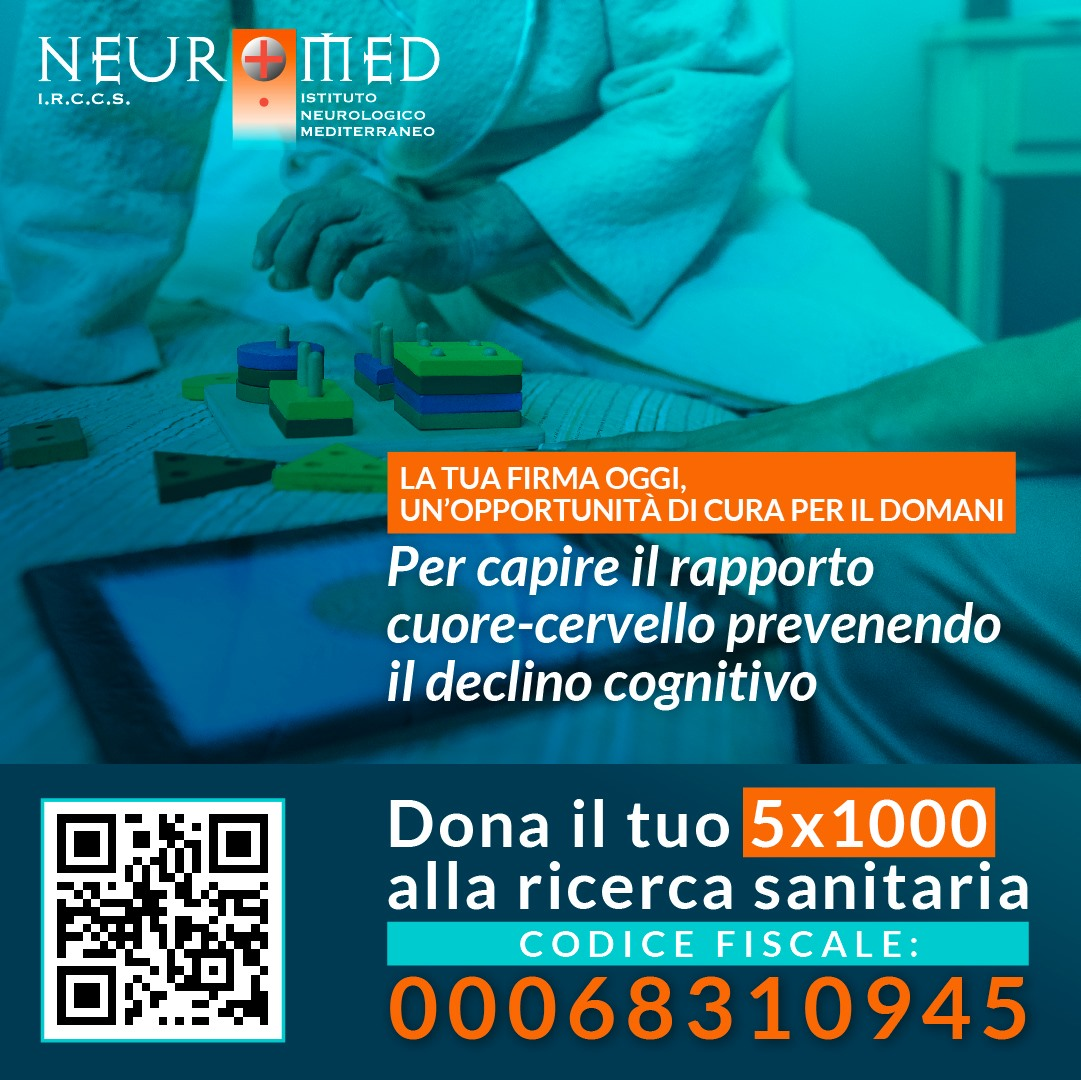 5 per mille neuromed declino cognitivo